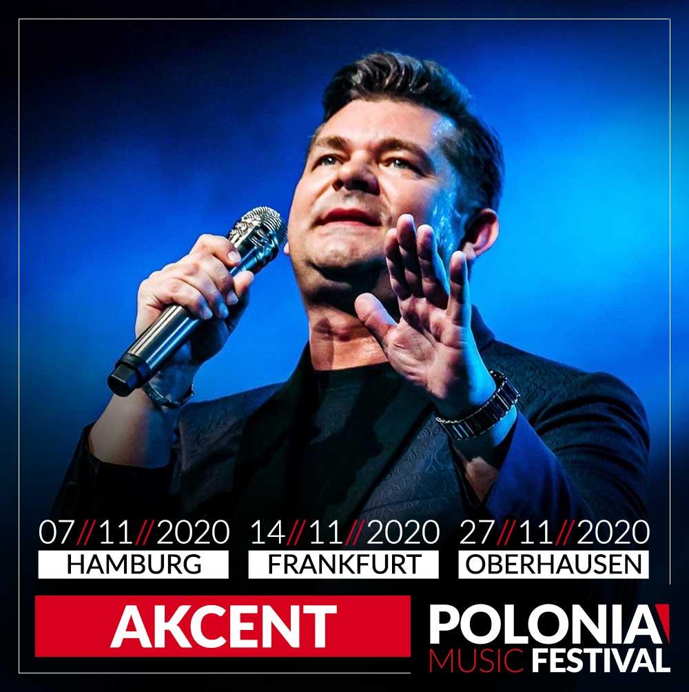 Akcent Zenek Martyniuk, koncert - Tickets - Bilety Frankfurt