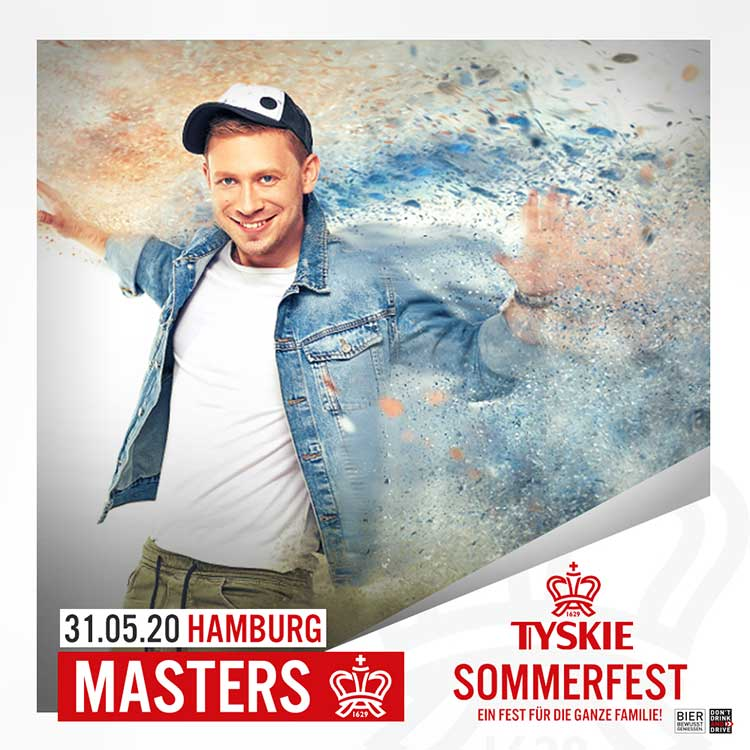 Masters koncert Tyskie Sommerfest in Hamburgu