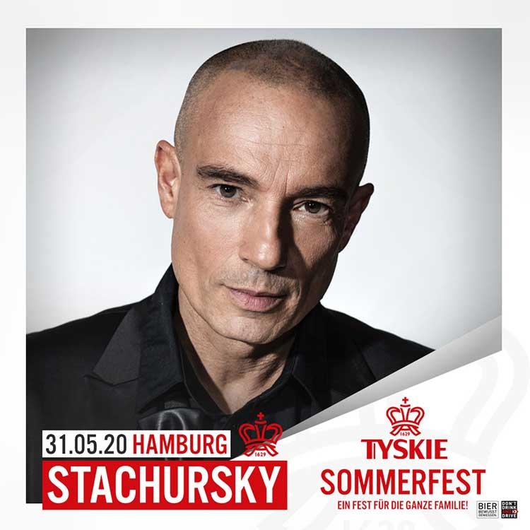 Stachursky koncert Tyskie Sommerfest in Hamburgu