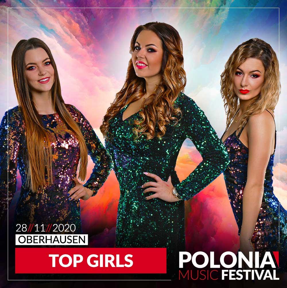 Top Girls koncert w Niemczech w Oberhausen