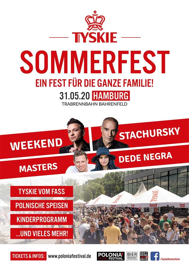 Tyskie Sommerfest in Hamburg 2020