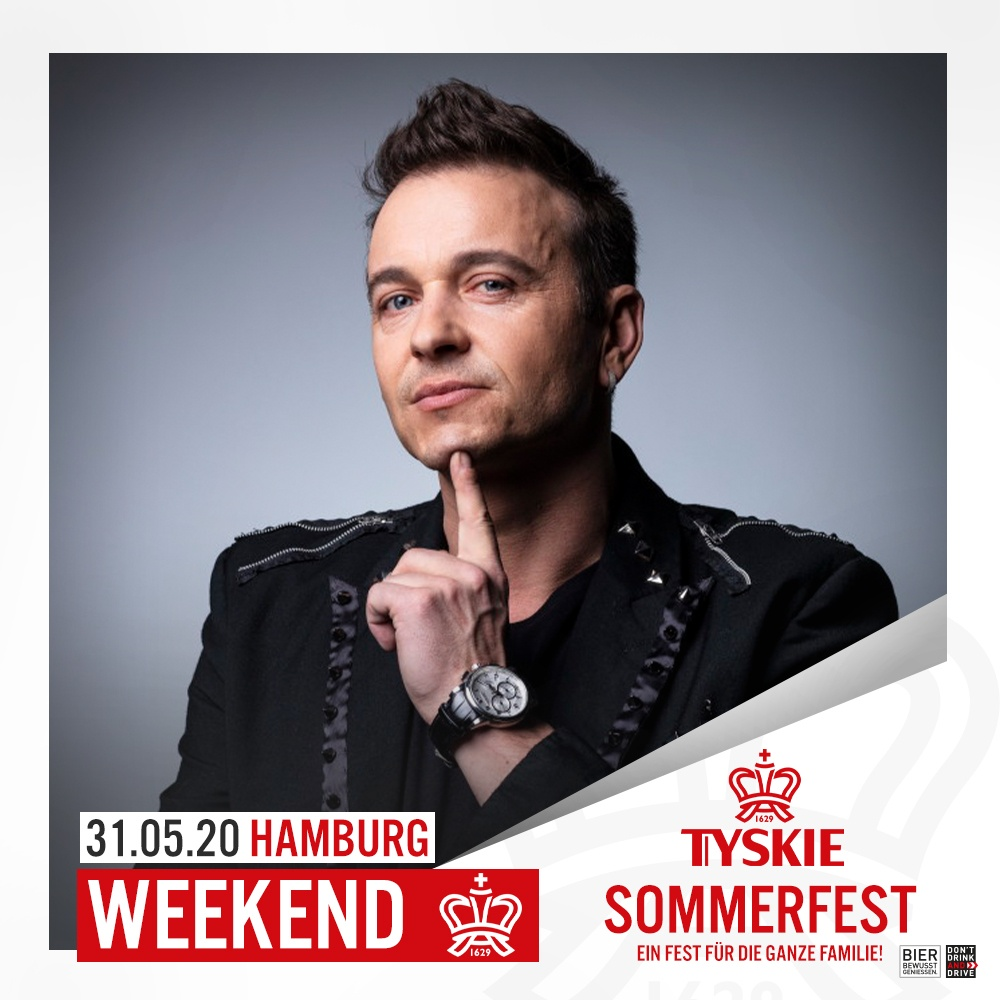 Tickets für Weekend Konzert bei Tyskie Sommerfest in Hamburg