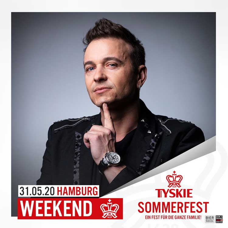 Weekend koncert Tyskie Sommerfest in Hamburgu