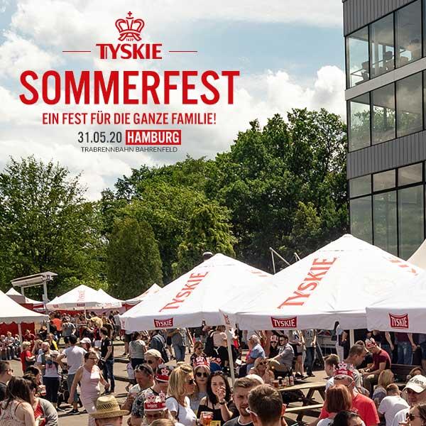 Tyskie Sommerfest in Hamburg