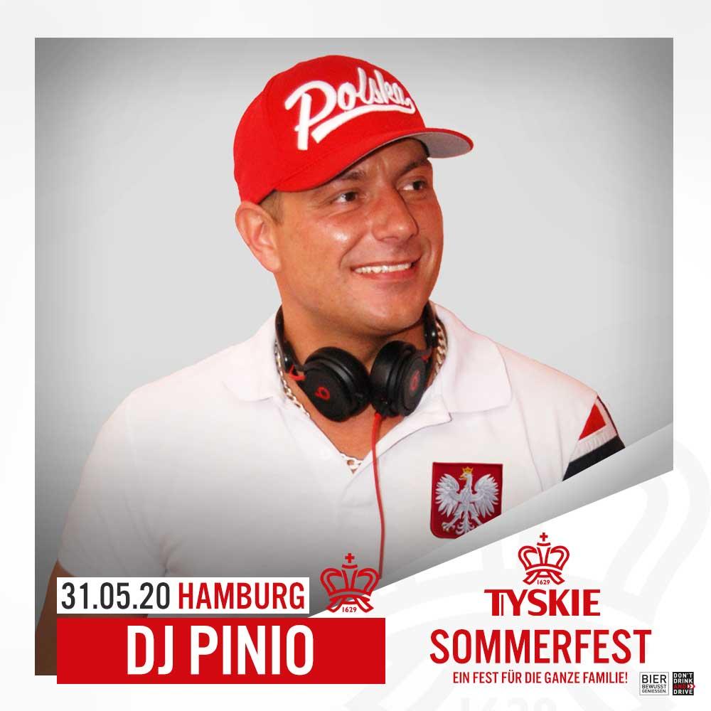 DJ Pinio Polska Party Hamburg